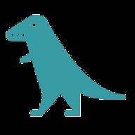 Anonymer Dinosaurier von Google Drive