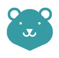 Anonymer Grizzlybär von Google