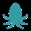 Anonymer Krake (octopus) von Google Drive