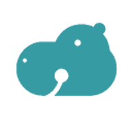 Anonymes Flusspferd (hippo) von Google Drive