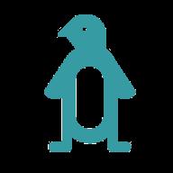 Anonymer Pinguin von Google Drive