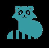 Anonymer Waschbär (raccoon) von Google Drive