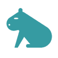 Anonymes Wasserschwein (Capybara) von Google Drive