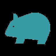 Anonymer Wombat von Google Drive