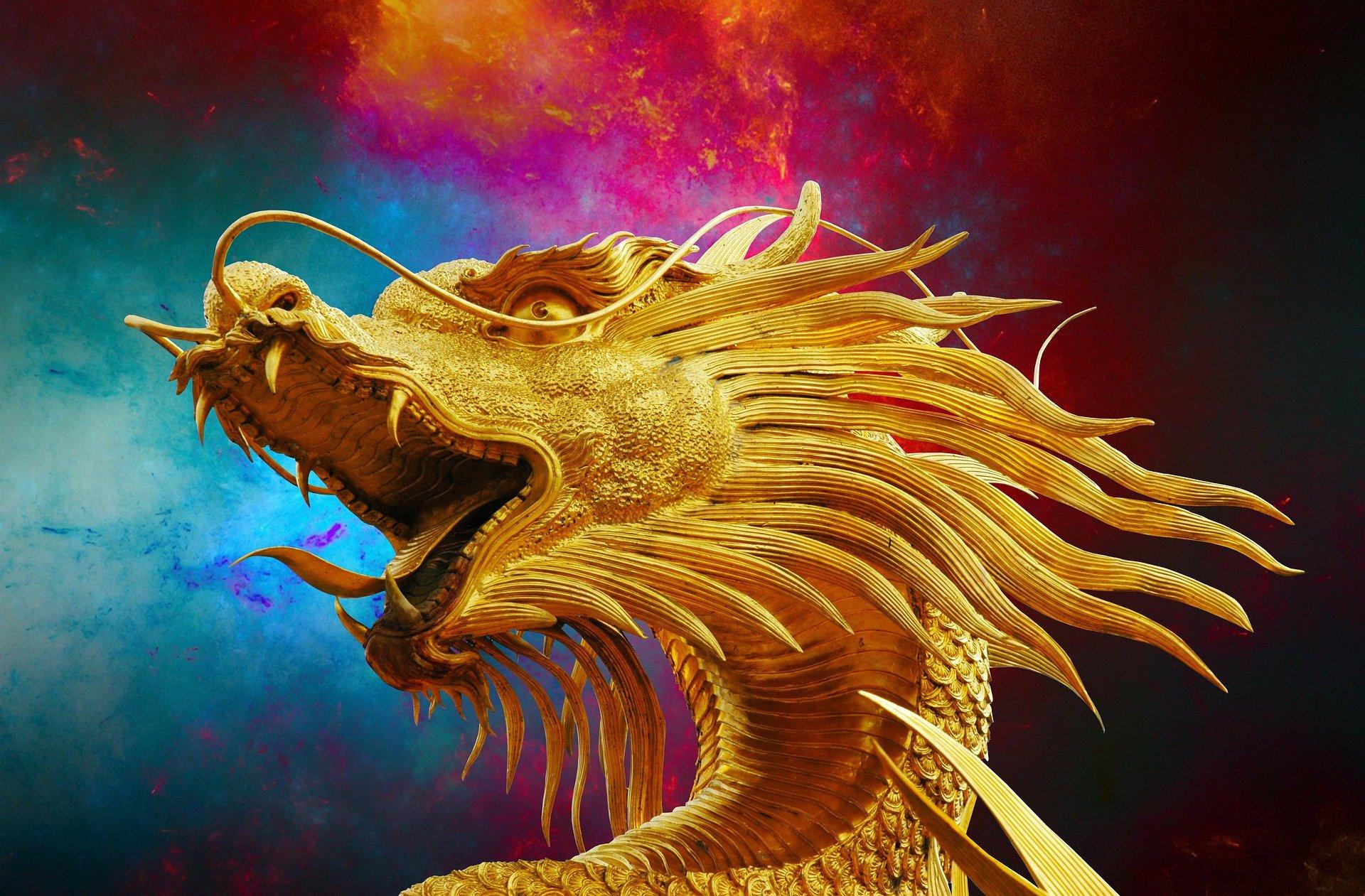 Drachen - Fantasiefigur