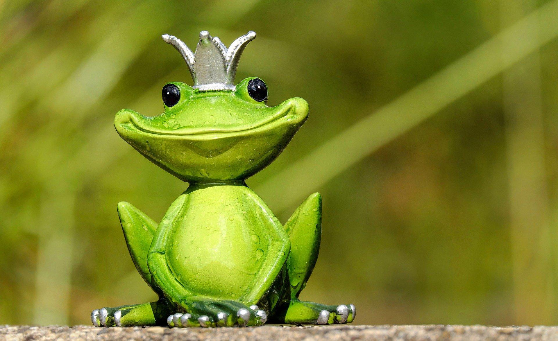 Froschfigur - frog figure