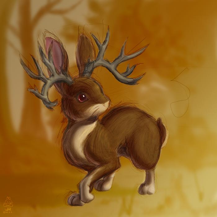 Hasenbock - jackalope